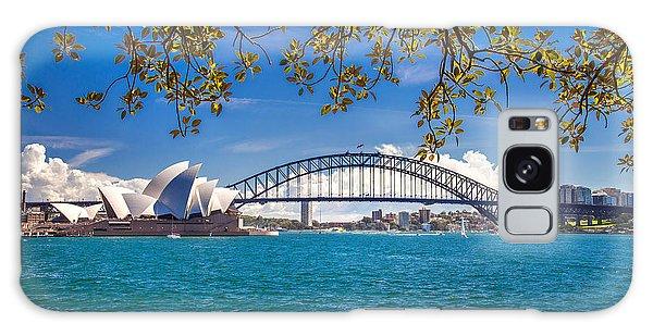 Long Exposure Galaxy Case - Sydney Harbour Skyline 2 by Az Jackson