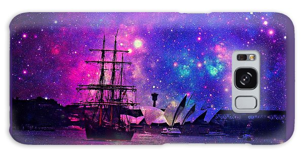 Sydney Harbour Through Time And Space Galaxy Case