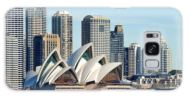 Sydney Opera House And Sydney Harbor - A Classic View Galaxy Case