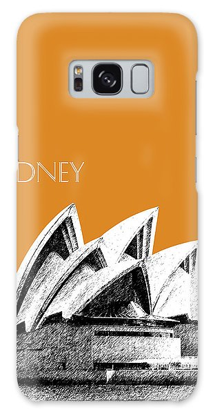 Sydney Skyline Galaxy Case - Sydney Skyline 3  Opera House - Dark Orange by DB Artist