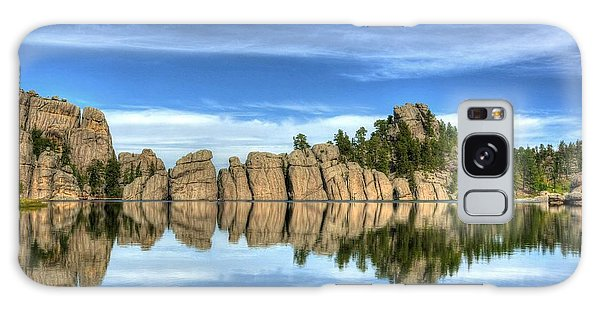 Sylvan Lake Reflections Galaxy Case