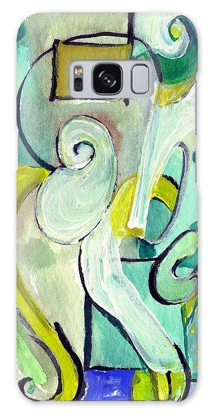 Symphony In Green Galaxy Case