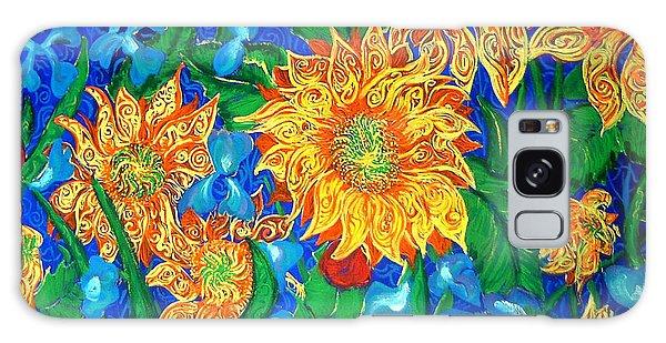 Symphony Of Sunflowers Galaxy Case