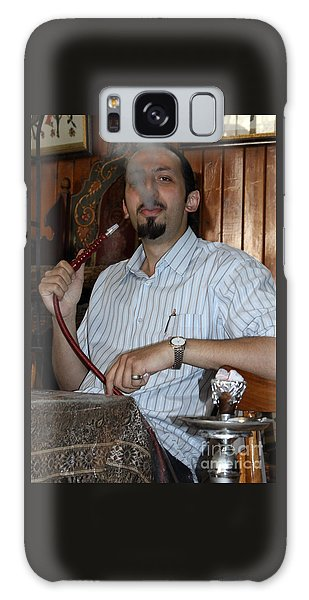 Syrian Man And Waterpipe Galaxy Case