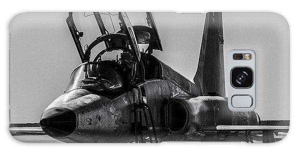 T-38 Talon Black And White Galaxy Case