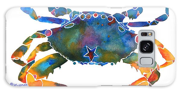 Color Me Crab E  Galaxy Case by Jo Lynch