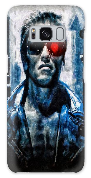 T800 Terminator Galaxy Case by Joe Misrasi