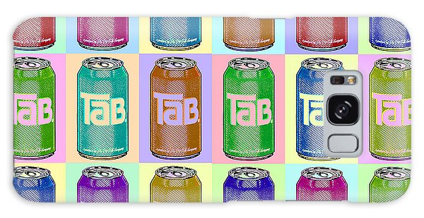 Tab Ode To Andy Warhol Repeat Horizontal Galaxy Case