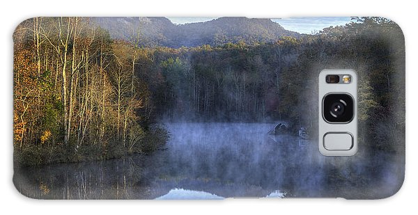 Table Rock Foggy Morning Galaxy Case