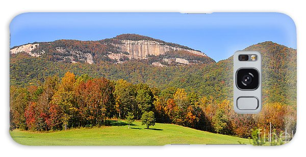 Table Rock In Autumn Galaxy Case by Lydia Holly