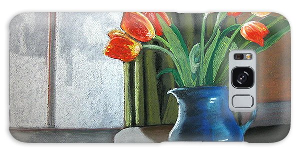 Table Top Tulips Galaxy Case