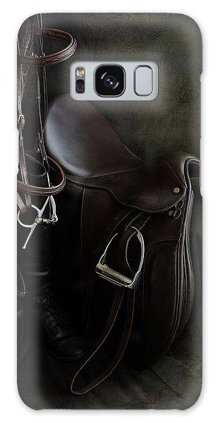 Tack And Boots Galaxy Case