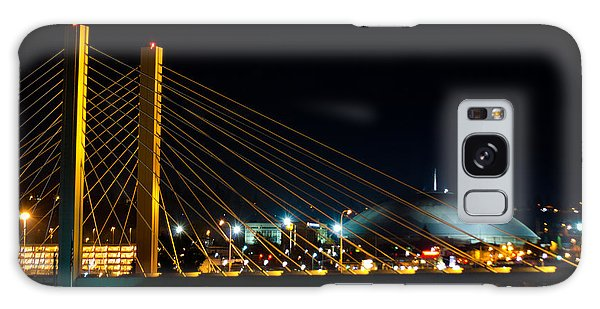 Tacoma Dome And Bridge Galaxy Case by Tikvah's Hope