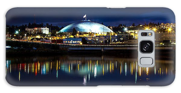 Tacoma Dome Reflections Galaxy Case by Rob Green
