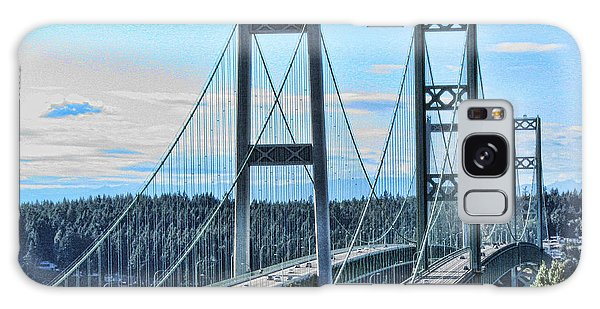 Tacoma Narrows Bridge 51 Galaxy Case