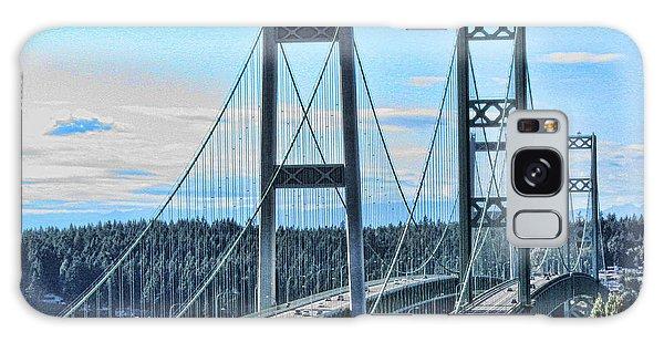 Tacoma Narrows Bridge 51 Galaxy Case