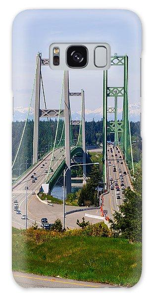 Tacoma Narrows Bridge Galaxy Case