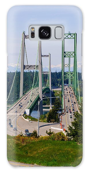 Tacoma Narrows Bridge Galaxy Case
