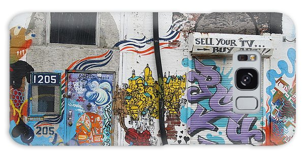 Tagging North Philly Galaxy Case by Christopher Woods