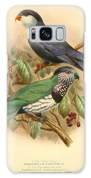 Parakeet Galaxy Case - Tahiti Lory by Dreyer Wildlife Print Collections