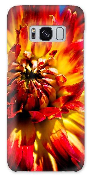 Tahiti Sunrise Galaxy Case by Joel Loftus