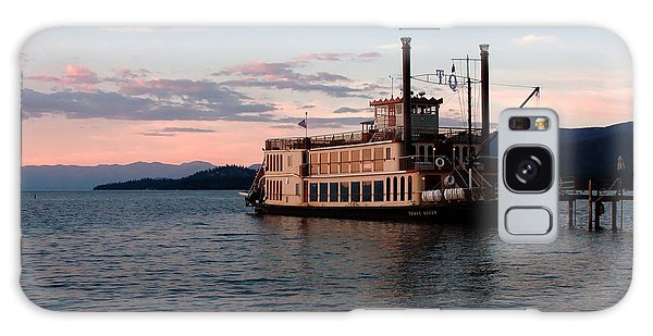Tahoe Queen Riverboat On Lake Tahoe California Galaxy Case