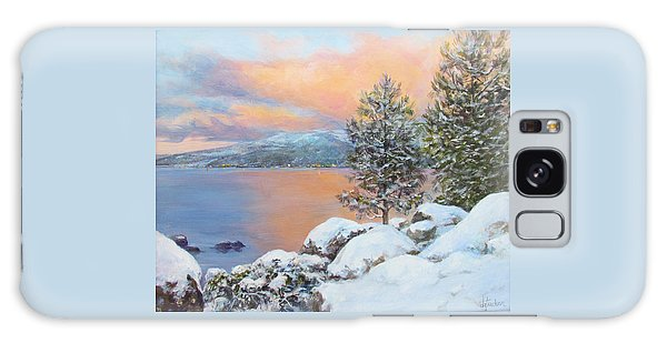 Tahoe Winter Colors Galaxy Case by Donna Tucker