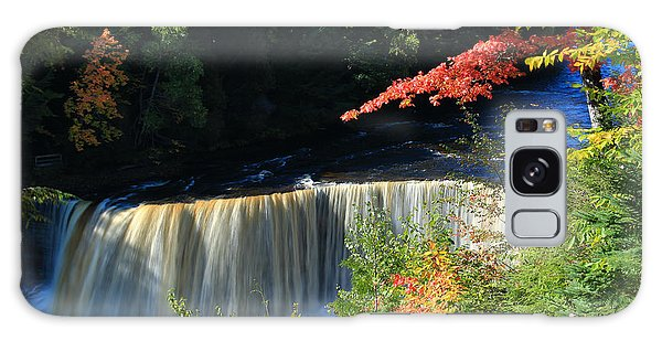 Tahquamenon Falls Autumn Galaxy Case