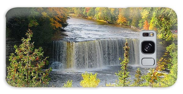 Tahquamenon Falls In October Galaxy Case