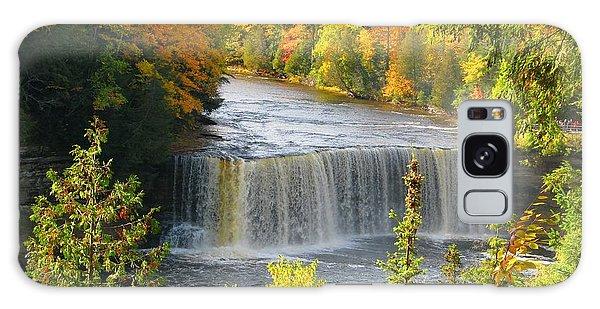 Tahquamenon Falls In October Galaxy Case