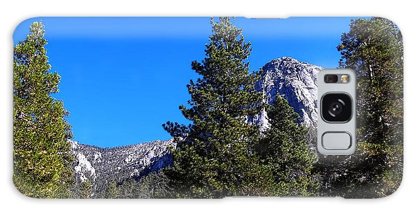 Tahquitz Rock - Lily Rock Galaxy Case by Glenn McCarthy