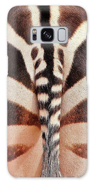 Tailing A Zebra Galaxy Case