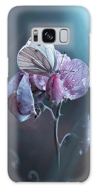 Pink Flower Galaxy Case - Tainted Love by Fabien Bravin