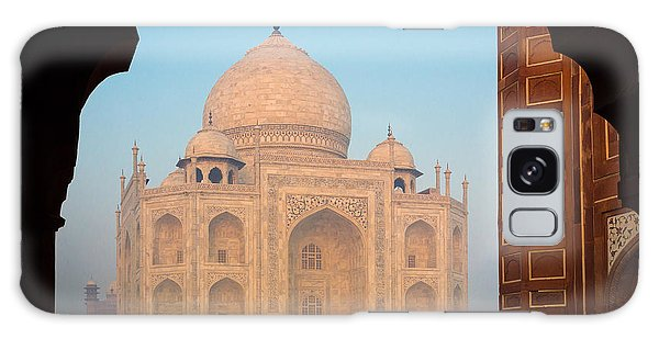 Islam Galaxy Case - Taj Mahal Dawn by Inge Johnsson