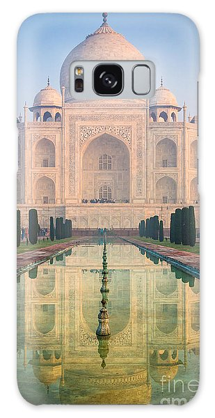 World Religion Galaxy Case - Taj Mahal Dawn Reflection by Inge Johnsson