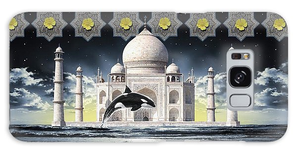 Taj Galaxy Case by Scott Ross