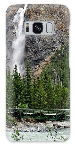 Takakkaw Falls Galaxy Case by Lisa Phillips