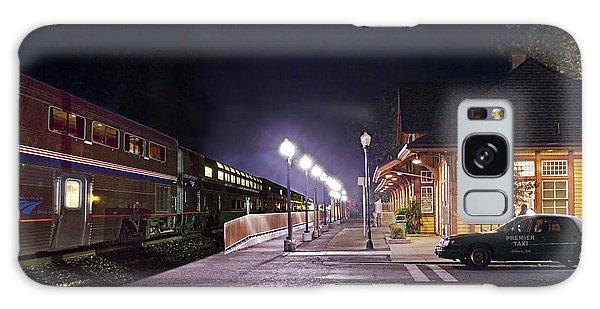 Take A Ride On Amtrak Galaxy Case