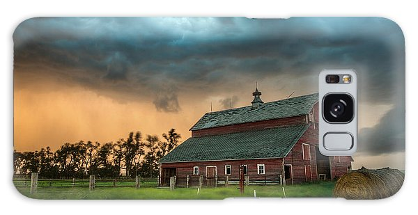 Take Shelter Galaxy Case by Aaron J Groen