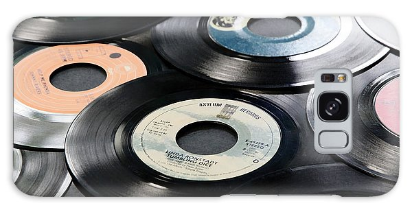 Take Those Old Records Off The Shelf Galaxy Case by Athena Mckinzie