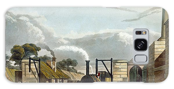 Trains Galaxy Case - Taking In Water At Parkside, Plate 13 by Thomas Talbot Bury
