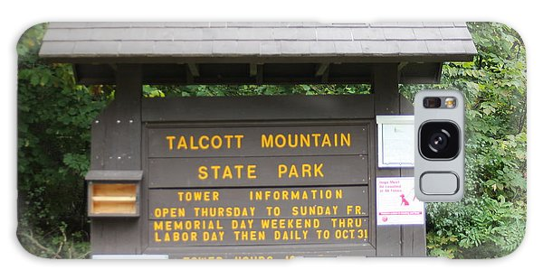 Talcott Mountain State Park Galaxy Case
