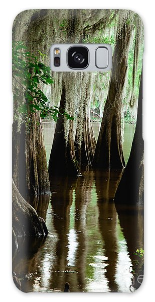 Tall Cypress Galaxy Case by Iris Greenwell