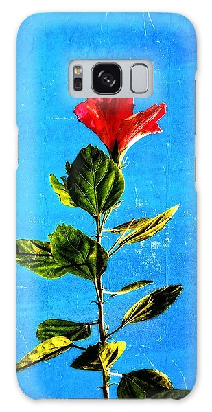 Hibiscus Galaxy Case - Tall Hibiscus - Flower Art By Sharon Cummings by Sharon Cummings