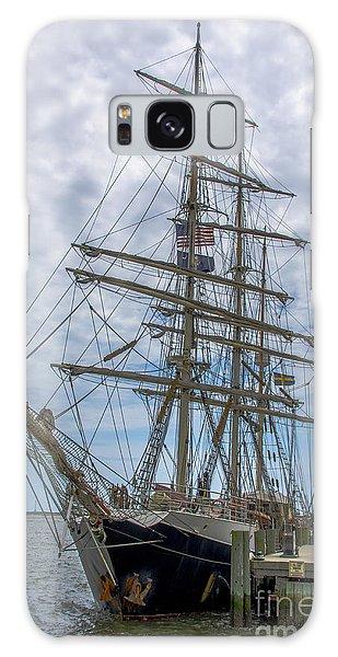 Tall Ship Gunilla Vertical Galaxy Case by Dale Powell