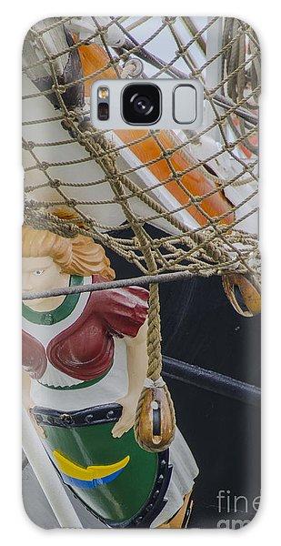 Tall Ship Gunilla Masthead Galaxy Case by Dale Powell