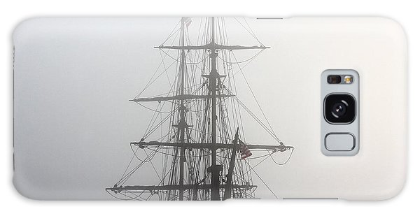 Tall Ship In The Fog Galaxy Case
