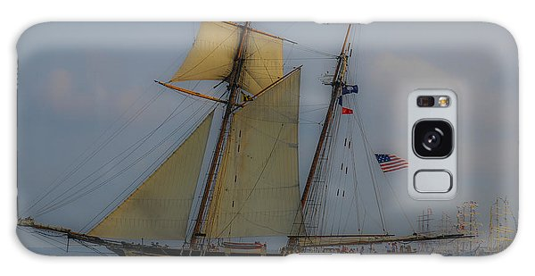 Tall Ships In The Lowcountry Galaxy Case by Dale Powell