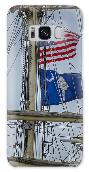 Tall Ships Flags Galaxy Case