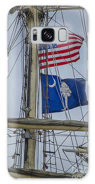 Tall Ships Flags Galaxy Case by Dale Powell